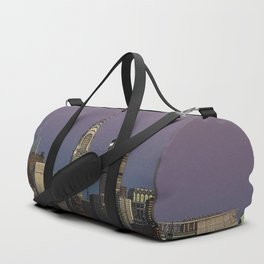 skyline city manhattan new york Duffle Bag