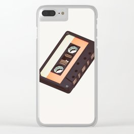 Lo-Fi goes 3D - The Mixed Tape Clear iPhone Case