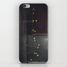 Flowers on the Floor iPhone & iPod Skin