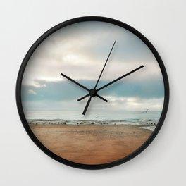 Pastel vibes 68 Wall Clock