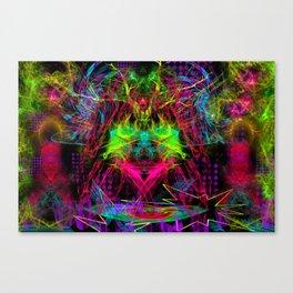 Zap Girl Canvas Print