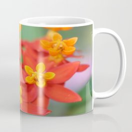 Succulent Red and Yellow Flower III Coffee Mug