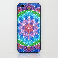 Lotus Flower of Life iPhone & iPod Skin