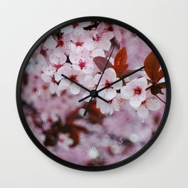 cherry plum candy Wall Clock