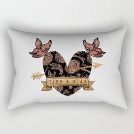 Rise & Slay Rectangular Pillow