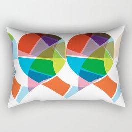 Heart Coloria Rectangular Pillow