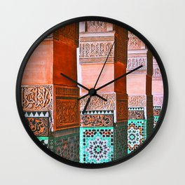 moroccan dreams Wall Clock
