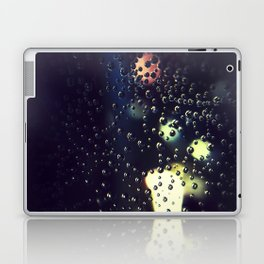 Morning Dew on a tiny spider web Laptop & iPad Skin
