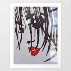 Red Lips Art Print