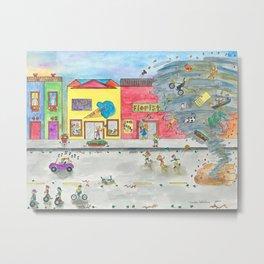 Happy Town V Metal Print