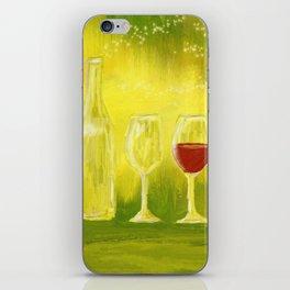 Wein / vino / wine iPhone Skin
