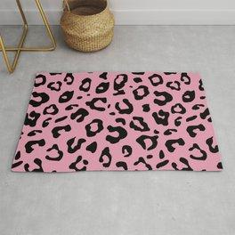 Pink Cheetah Rug