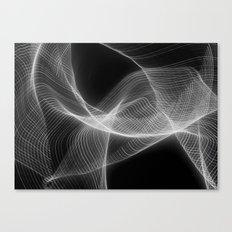Soundwaves (ANALOG zine) Canvas Print
