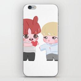 STICKER | Take my love, Jimin (JIKOOK BTS) iPhone Skin