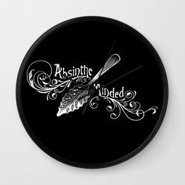 Absinthe Minded Wall Clock