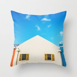 Bridgetown Barbados Throw Pillow