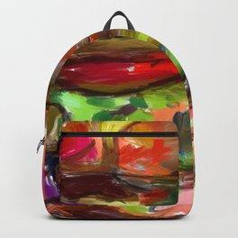 Hamburger Rainbow Backpack