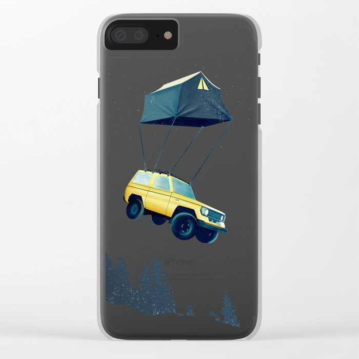 Darling, time to move on... Clear iPhone Case
