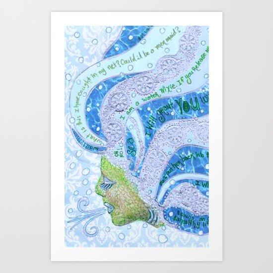 Nixie Art Print