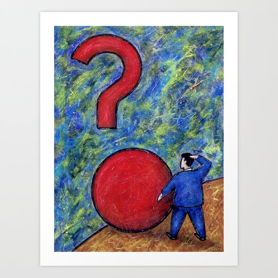 U.F.Q Art Print