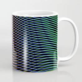 lines and patterns wing light painting Coffee Mug