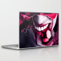 gift card Laptop & iPad Skins featuring Gift by Imustbedead