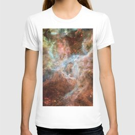 The Galaxy Above with Stars T-shirt