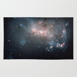 Starburst - Captured by Hubble Telescope Rug
