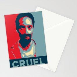 Cruel Cruelcruelcruel Stationery Cards