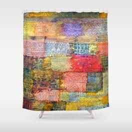 Paul Klee Villa Fiorentino Shower Curtain