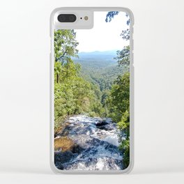Over Amicalola Falls Clear iPhone Case