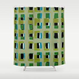 Urban Space Shower Curtain
