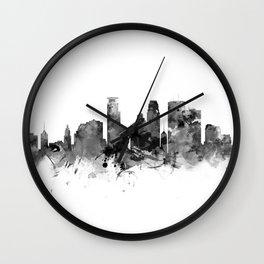 Minneapolis Skyline Wall Clock