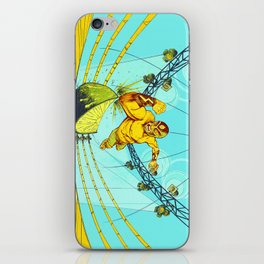 Luchador Lime iPhone Skin