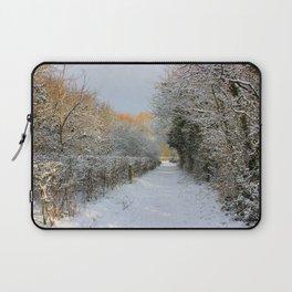 Winter Walkway Laptop Sleeve