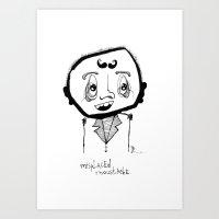 Misplaced Art Print
