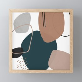 Stone's Throw Framed Mini Art Print