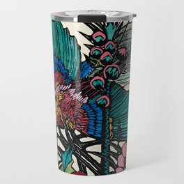 """Bird of Paradise"" by Margaret Preston Travel Mug"
