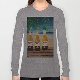 Greedy - Corona Ad Painting Long Sleeve T-shirt