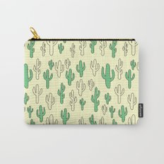 Cactus in Yellow Palette Carry-All Pouch