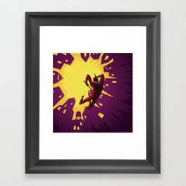 Daredevil Jump Framed Art Print