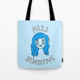 Miss Sensitive Tote Bag