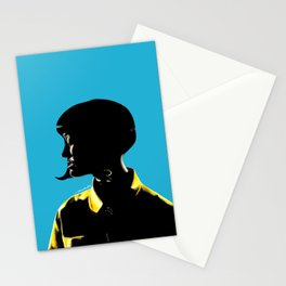 Katy Perr Portrait Art - This Is How We Do (Music Video)  Stationery Cards