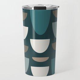 Turquoise Bowls Travel Mug