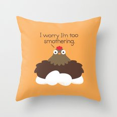 Apprehensive Throw Pillow