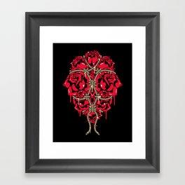 BOUND ROSES Framed Art Print