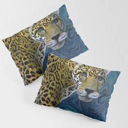 Leopard with the Sky in His Eyes Pillow Sham