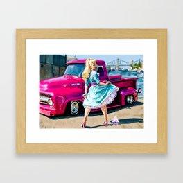 Rebel Love - Kassandra Love Framed Art Print