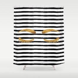 Eyes & Stripes Shower Curtain