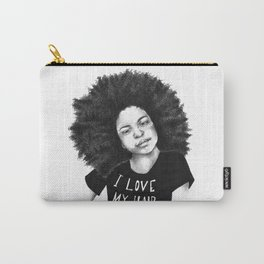 I love my hair Carry-All Pouch